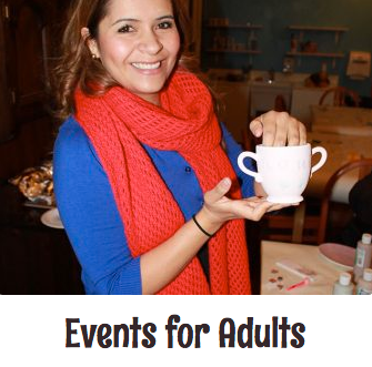 Pottery Painting Parties for Adults