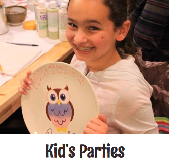Pottery Painting Parties for Kids