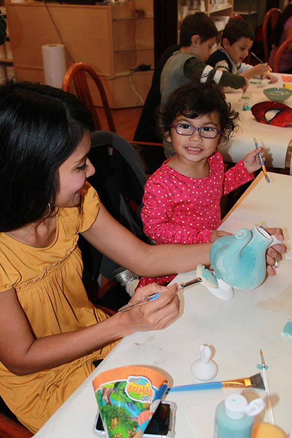 Pottery Painting Party For Kids